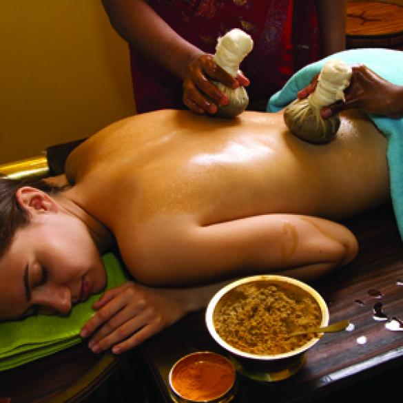 Ayurvedic Massaging